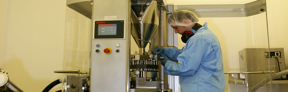 We specialise in a complete manufacturing service from formulation to packaging.